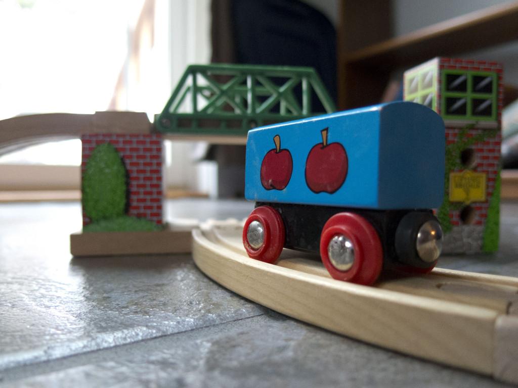 Toy Train ©2013 Emily Flynn