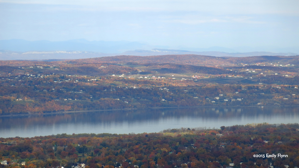 View from Mount Beacon ©2013 Emily Flynn